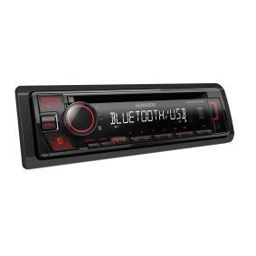 Stereo Potenza: 4x50W KDCBT440U