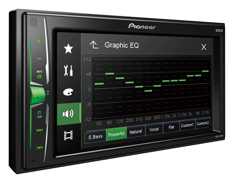 Multimediální autorádio MVH-A100V PIONEER MVH-A100V originální kvality