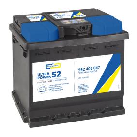 CARTECHNIC Starterbatterie B13 , 52 Ah , 12 V , 470 A , Bleiakkumulator