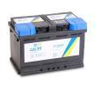 CARTECHNIC ULTRA POWER Baterías de scooter 77Ah, 12V, 780A, B13, Batería de plomo y ácido