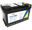 original CARTECHNIC 580500080 Starter Battery