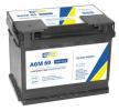original CARTECHNIC 027AGM Starter Battery