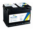 original CARTECHNIC 096EFB Starter Battery