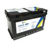 CARTECHNIC AGM B13 , 80 Ah , 12 V , 800 A , AGM-Batterie 4027289030173