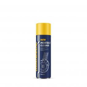 Brake & clutch cleaners MANNOL 9670 for car (Contents: 500ml, Spraycan)