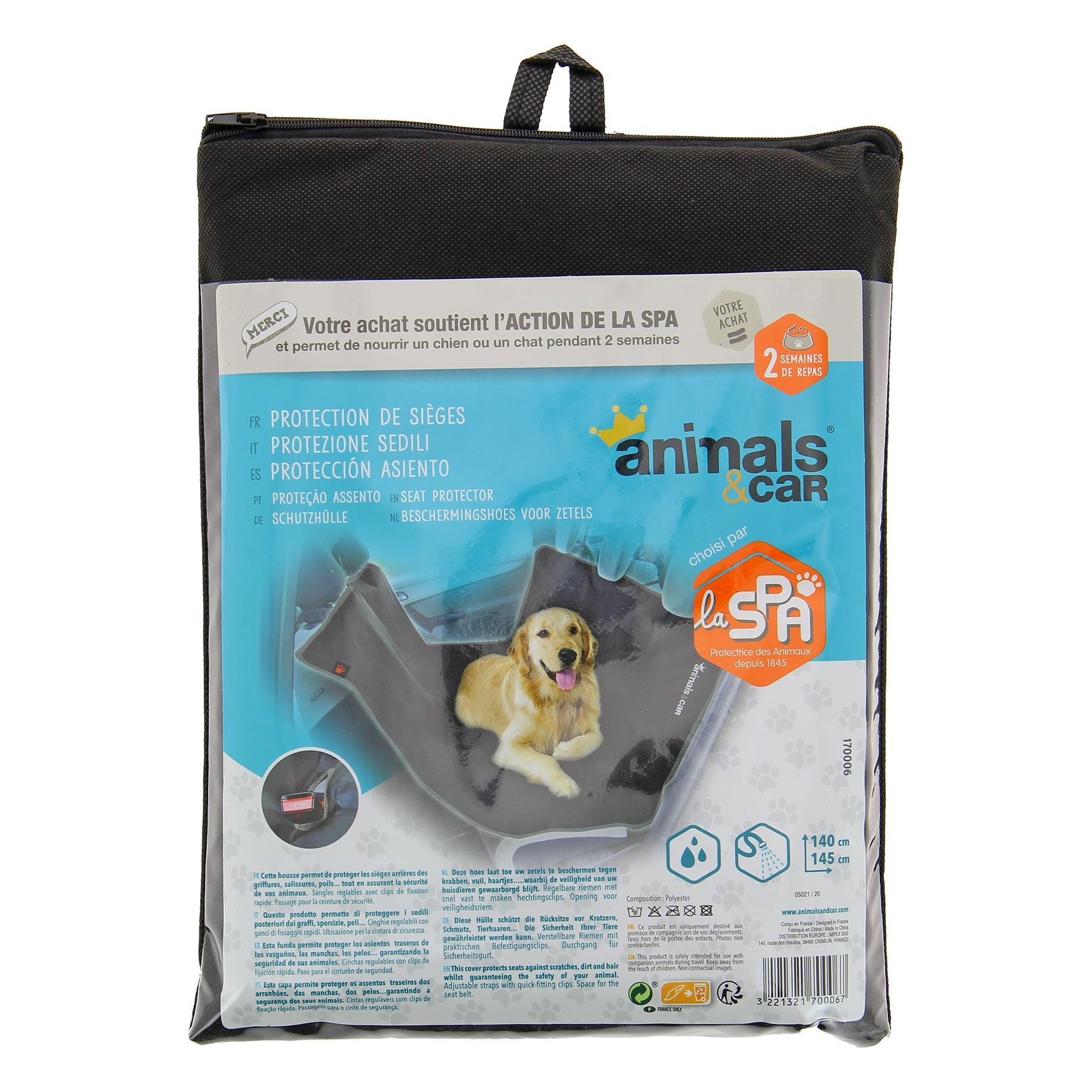 Housse protection voiture chien animals&car 170006 évaluation