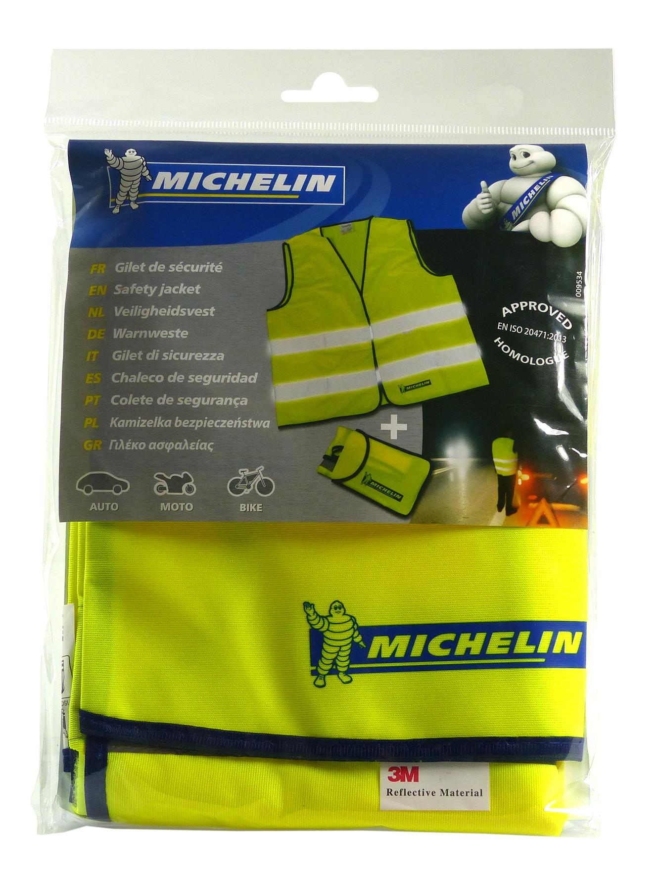 High-visibility vest Michelin 009534 expert knowledge