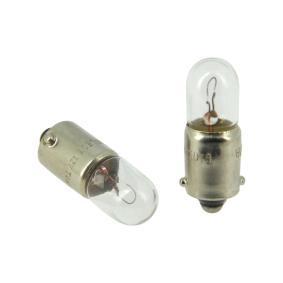 Bulb, indicator- / outline lamp T4W, BA9s, 4W, 12V 132325 FORD TRANSIT, ESCORT, CAPRI