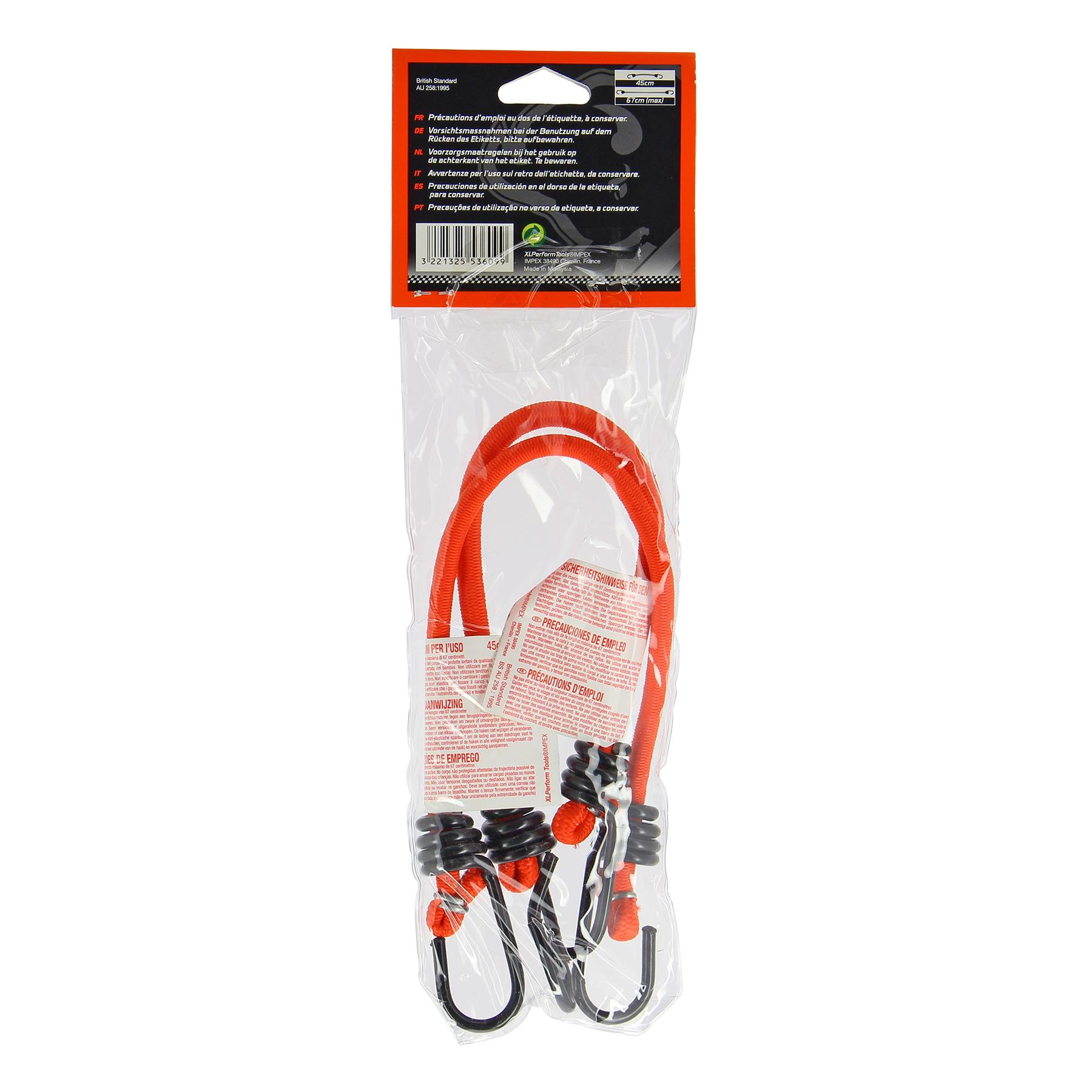 Bungee cords XL 553609 3221325536099