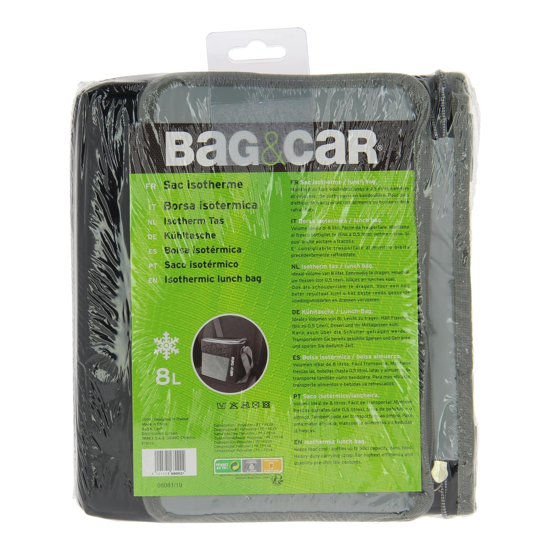 Sac réfrigérateur BAG&CAR 168002 connaissances d'experts