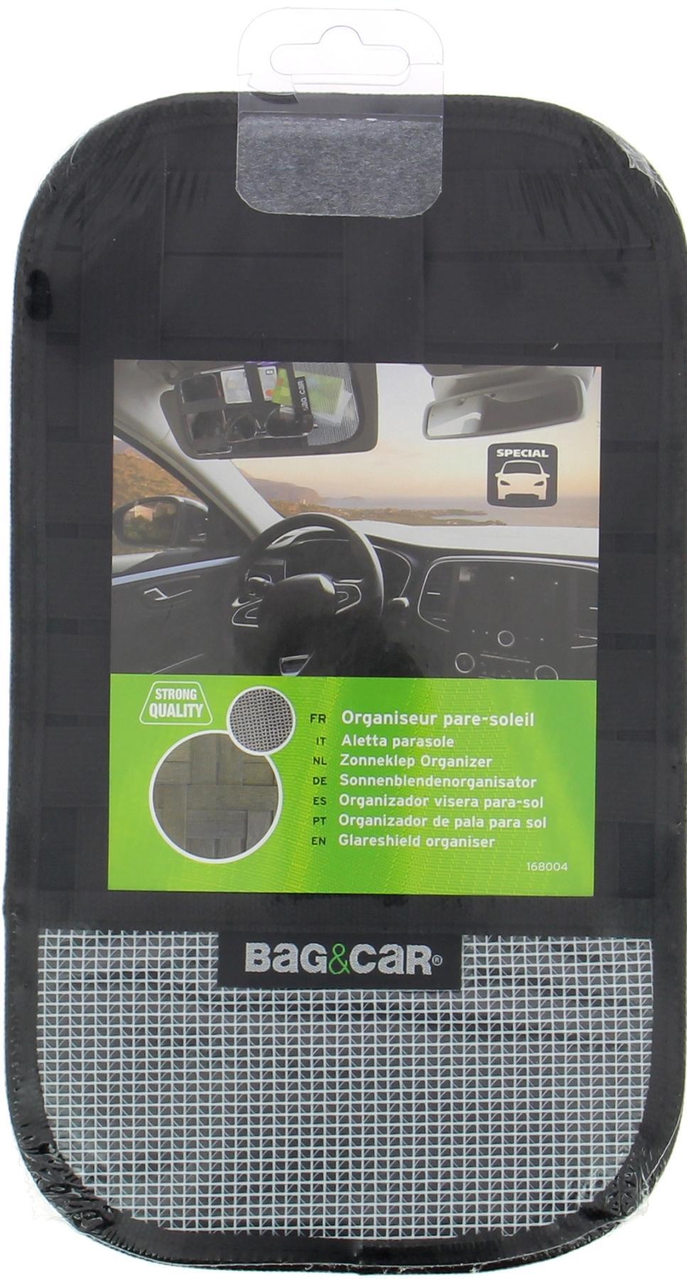 Сar seat organiser BAG&CAR 168004 expert knowledge