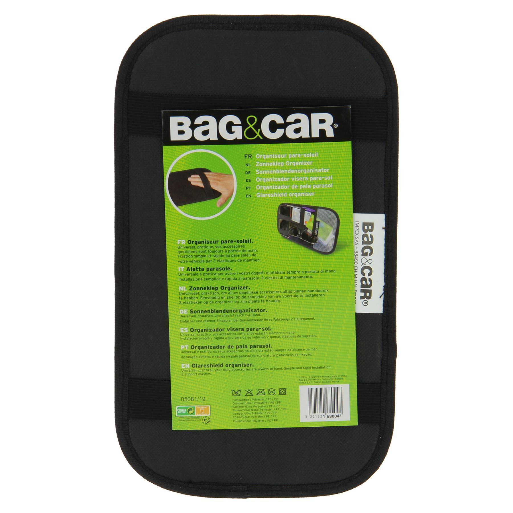 Сar seat organiser BAG&CAR 168004 3221321680048