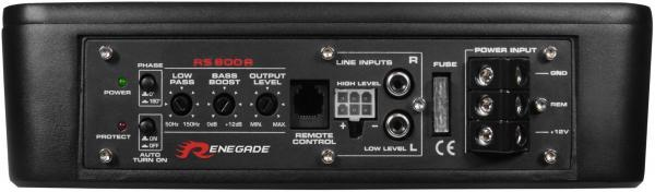 Aktiv-Subwoofer RENEGADE RS800A Erfahrung