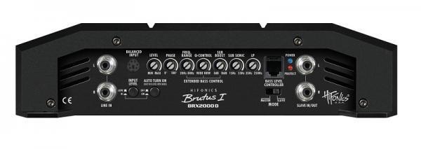 Audio Amplifier HIFONICS BRX-2000D expert knowledge