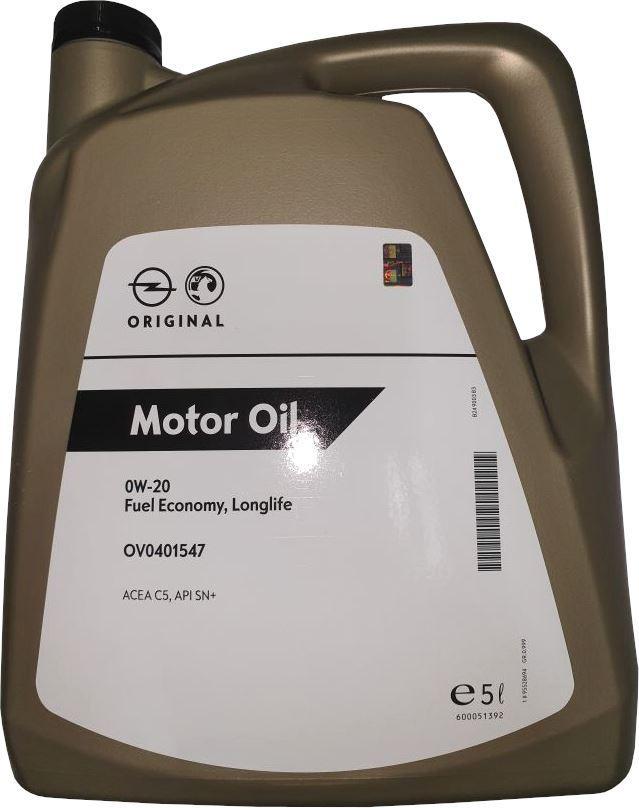 OPEL GM Fuel Economy, Longlife 95528694 Olio motore