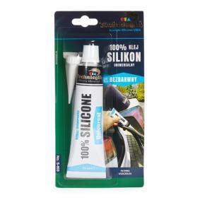 Allzweckklebstoffe TECHNICQLL S-003 für Auto (transparent, silikathaltig, Inhalt: 70ml)