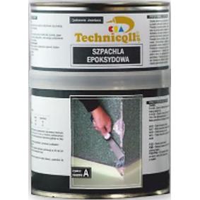Metallspachtel TECHNICQLL E-581 für Auto (Gewicht: 670 g + 330 gg)