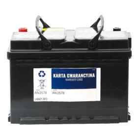 56-045 Batterie de démarrage Tiguan 5n 2.0 TDI 4motion 2010