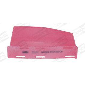 Filter, Innenraumluft Länge: 285mm, Breite: 210mm, Breite 1: 207mm, Höhe: 30mm mit OEM-Nummer 1 K1 819 653 B