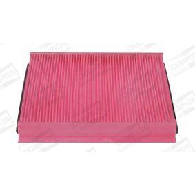 Filter, Innenraumluft Länge: 262mm, Breite: 228mm, Höhe: 30mm mit OEM-Nummer 1802422