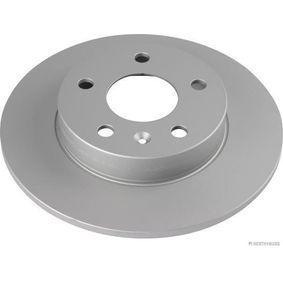 Bremsscheibe Bremsscheibendicke: 9,9mm, Lochanzahl: 5, Ø: 264mm mit OEM-Nummer 95 526 658