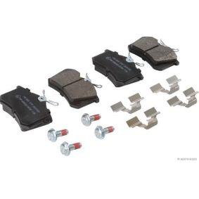 Bremsbelagsatz, Scheibenbremse Breite: 87,1mm, Höhe: 52,8mm, Dicke/Stärke: 17mm mit OEM-Nummer 4254.67