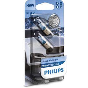 Bulb, indicator H6W, BAX9s, 12V, 6W 12036WVUB2 BMW 3 Series, 5 Series, 1 Series
