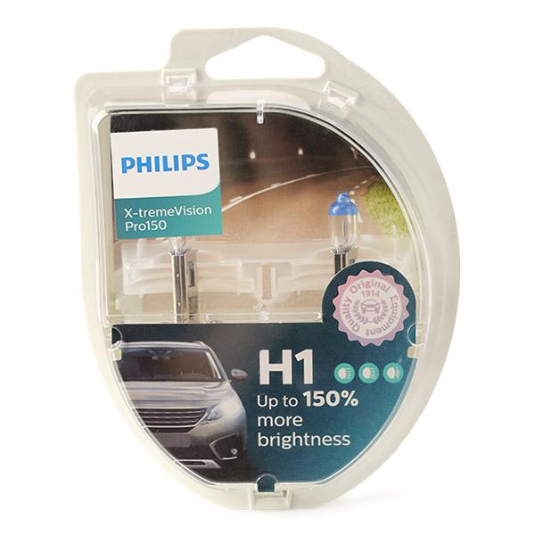 Bulb, spotlight 12258XVPS2 PHILIPS H1 original quality