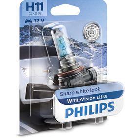 Glühlampe, Fernscheinwerfer H11, 55W, 12V 12362WVUB1 VW GOLF, PASSAT, TRANSPORTER