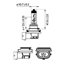 Bulb, spotlight with OEM Number 000000001606