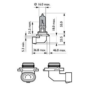 Bulb, spotlight with OEM Number 1382495