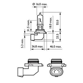 Bulb, spotlight with OEM Number 1 382 495