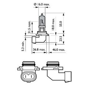 Bulb, spotlight with OEM Number 63 12 1 382 496