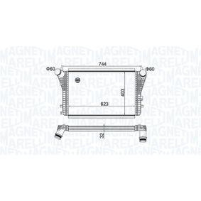 Ladeluftkühler mit OEM-Nummer 1K0145803AS