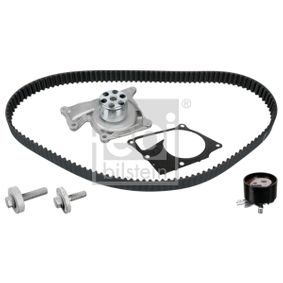 Water pump and timing belt kit Width: 27,0mm with OEM Number 82 00 537 033