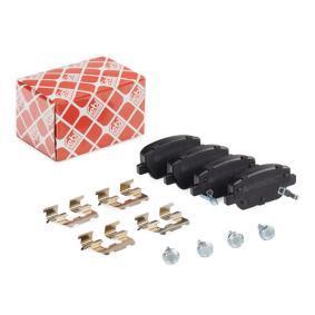 Bremsbelagsatz, Scheibenbremse Breite: 42,2mm, Dicke/Stärke 1: 17,2mm mit OEM-Nummer 77367717(-)