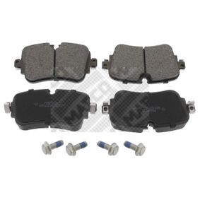 Brake Pad Set, disc brake Width: 129mm, Height: 65mm, Thickness: 16,9mm with OEM Number 4M0 698 451P