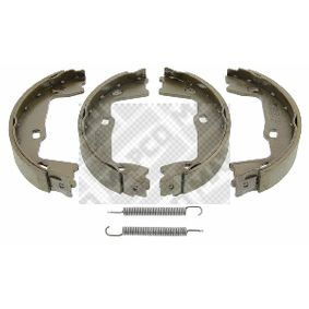 Bremsbackensatz Breite: 25mm mit OEM-Nummer 90 509 606
