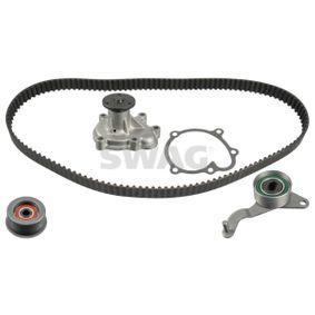 2004 Opel Corsa B 1.7 DTI 16V Water pump and timing belt kit 33 10 1582