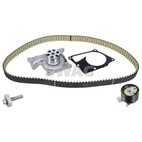 Water pump and timing belt kit Width: 27,0mm with OEM Number 16806-00Q2D