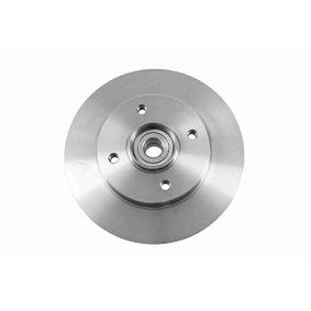 Disco de travão Espessura do disco de travão: 9mm, Jante: 4furos, Ø: 249mm com códigos OEM 4249 34