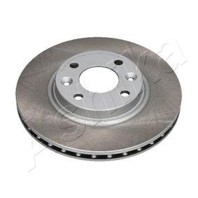 Brake Disc Brake Disc Thickness: 22mm, Ø: 258mm with OEM Number 402062212R