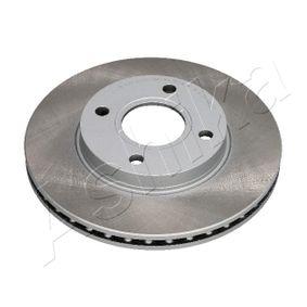 Brake Disc 60-03-307C FIESTA 5 (JH, JD) 1.25 16V MY 2004