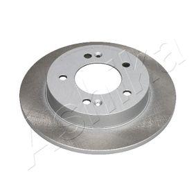 Bremsscheibe Bremsscheibendicke: 10mm, Ø: 258mm mit OEM-Nummer 58411-1P300