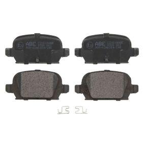 Bremsbelagsatz, Scheibenbremse Breite: 96mm, Höhe: 44mm, Dicke/Stärke: 14mm mit OEM-Nummer 92 00 132