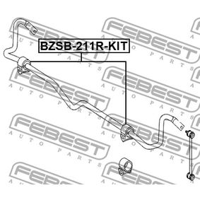 Soporte, estabilizador BZSB-211R-KIT Clase E Berlina (W211) E350 CGI (211.057) ac 2008