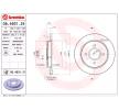 cojinete, caja cojinete rueda FORD FOCUS (DAW, DBW) 1.8 TDCi de Año 03.2001 115 CV: Disco de freno (08.4931.24) para de BREMBO