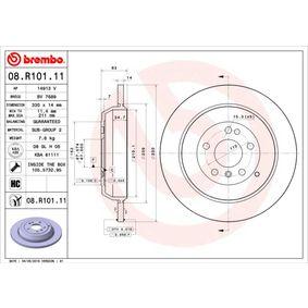 Спирачен диск 08.R101.11 M-класа (W164) ML 320 CDI 3.0 4-matic (164.122) Г.П. 2005
