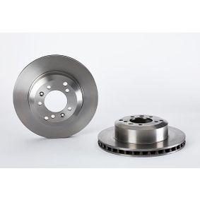 BREMBO  09.5191.10 Bremsscheibe Bremsscheibendicke: 28mm, Lochanzahl: 5, Ø: 314mm