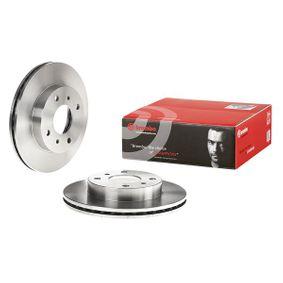 Bremsscheibe Bremsscheibendicke: 22mm, Lochanzahl: 4, Ø: 257mm mit OEM-Nummer 40206 71E06